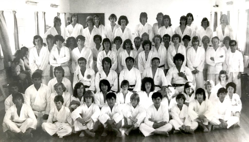 Palmerston North Taekwon-Do Academy Club Grading 1975