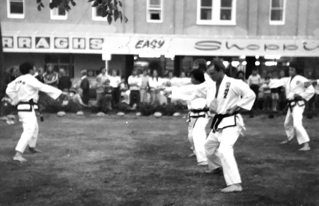 TKD Demonstration Fielding, 1976